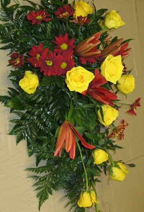 188 ruusuja, liljoja ja krysamteemeja
