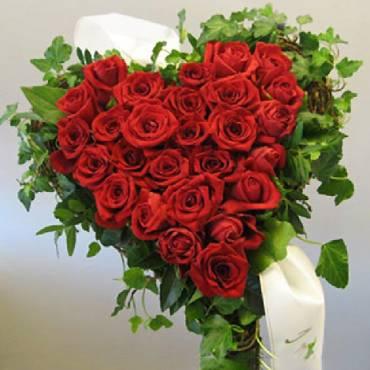 Sydän kukkalaite 31